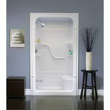 walk in shower with tub scintillating one piece tub shower combo contemporary ideas