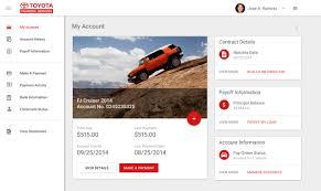 toyota financial desktop jose a ramirez ux mobile web strategy