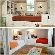 amenager chambre enfant design interieur amenagement chambre enfant garçon lits blancs