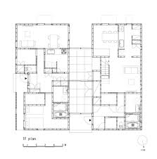 two family floor plans ingeniously planned two family residence in yamagata prefecture