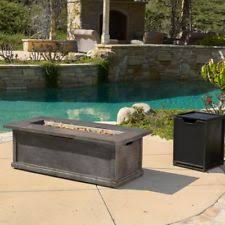 home loft concepts salta metal propane fire pit table eggshell ebay