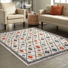 Rug And Tug Better Homes And Gardens Bright Global Diamonds Print Area Rugs Or