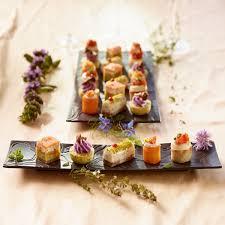 canap au saumon canapés gourmet traiteur prêt à recevoir