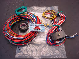 universal harness with fuse box for dune buggy kit car
