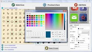 icon design software free download archive