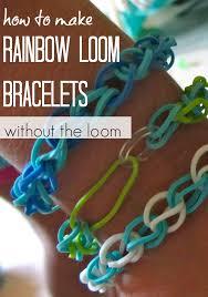 make rainbow bracelet images How to make rainbow loom bracelets without the loom teach mama jpg