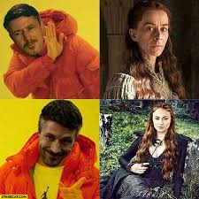 Drake Meme - game of thrones littlefinger drake meme sansa starecat com