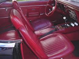 1967 Firebird Interior Camaro Headrests Crg Research Report