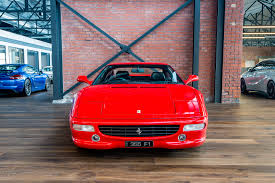 ferrari f1 factory 1998 ferrari 355 berlinetta f1 richmonds classic and prestige