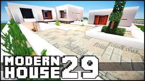 Modernhouse by Minecraft Modern House 29 Youtube