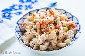 Pasta Salad Mayo by Mom U0027s Macaroni Salad Recipe Simplyrecipes Com