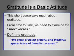 gratitude but we are bound to give thanks to god always for you