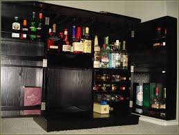 Home Bar Cabinet Ideas Furniture Luxury Liquor Cabinet With Lock For Elegant Home