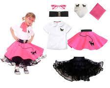 toddler poodle skirt ebay