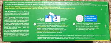 gain washing machine cleaner review tom u0027s tek stop