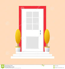 colorful door concept door flat icon design your own apartment