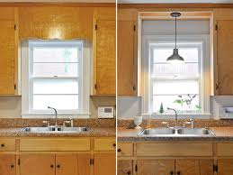 kitchen sink lighting ideas charming light kitchen sink and best 20 kitchen sink lighting