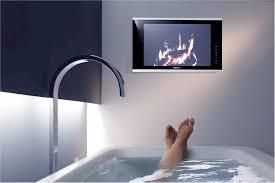 fernseher fürs badezimmer bad hersteller präsentieren trends 2013 mein bau