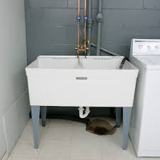 how to install a laundry sink laundry sinks faucets north county plumbing palm beach county