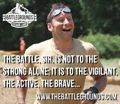 Mud Run Meme - take a day off the battlegrounds mud run