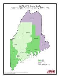 Alaska Population Map by Census 2010 News U S Census Bureau Delivers Maine U0027s 2010 Census