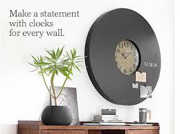 Wall Clocks Wall Clocks U0026 Decorative Clocks Pottery Barn