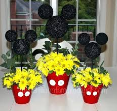 mickey mouse center pieces fascinating mickey mouse party decoration centerpieces mickey