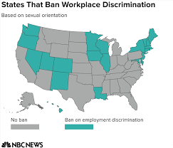 Circuit Court Map Same Workplace Discrimination Moves To Appeals Courts Nbc News