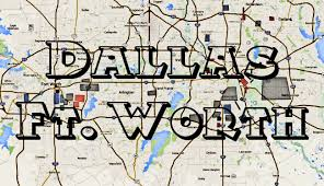 Map Dallas Dallas Hoods Fort Worth Hoods