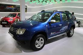 renault blue renault duster anniversary edition side 3