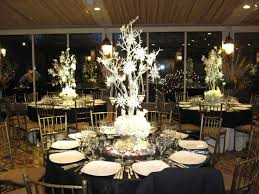 non floral winter wedding centerpieces winter wedding