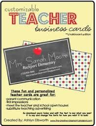 Fun Business Card Ideas Best 25 Teacher Business Cards Ideas On Pinterest Magnetic