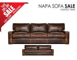 Oversized Leather Sofa Maxwell Oversized Seating Leather Sofa Set