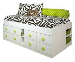 twin bed frame with drawers twin bed with headboard and storage