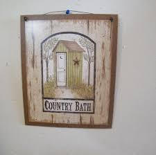 Wall Art For Bathroom Rustic Wall Art For Bathroom Wood Crafts On Pinterest Door