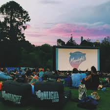 Botanical Gardens Open Air Cinema Outdoor Cinemas In Botanical Gardens Melbourne Processed With