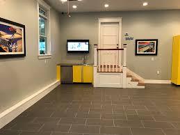 Tiles For Garage Floor Porcelain Tile The Ideal Surface For Garage Flooring Vault