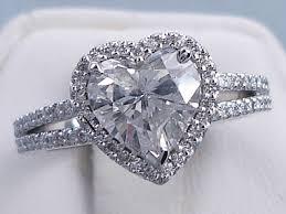 heart shaped wedding rings heart diamond wedding ring ctw heart shape diamond wedding ring