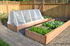 How To Build A Raised Garden Bed Cheap How To Build A Cheap Raised Garden Bed And Frost Cover The