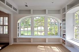 under window bookcase bench under window bookcase offers extra book storage homesfeed