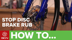 Bike To Work Week Presented by How To Stop Your Disc Brakes Rubbing Youtube