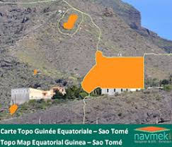 map of sao tome topo map equatorial guinea sao tomé navmek