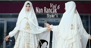 wedding dress syari gamis cantik pusat gamis muslim nan rancak vol 6 premium