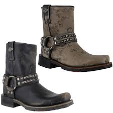 womens harley davidson boots size 12 womens harley davidson katerina stud harness black zip up ankle
