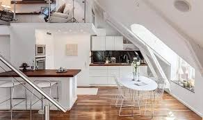 attic kitchen ideas modern skylights window designs visually small kitchens