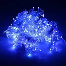 Curtain Fairy Lights by 300 Blue Led Curtain Fairy Lights Wedding Christmas Diyoz