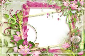 pink and green flowers png frame gallery yopriceville high