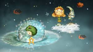 the sun and the moon tale
