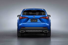 lexus is f sport 2018 2018 lexus nx gets a refresh in shanghai motor trend canada