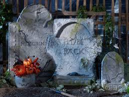 make your own easy diy halloween tombstones plaid online